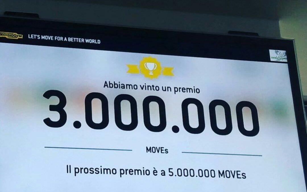 3 Milioni di MOVEs – Missione compiuta per il centro Attività Motorie